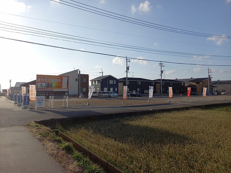 【売地】サンセット通りKUROMARU 長崎県大村市黒丸分譲団地